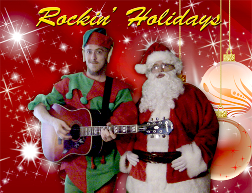 Rockin' Holidays with Santa and Elf - The Best Christmas Music.